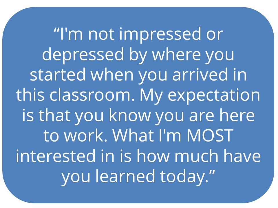 I am not Impressed quote