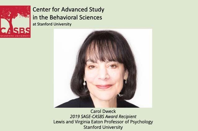 Dweck-CASBS-Award